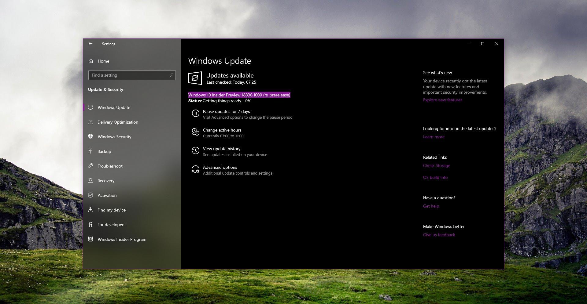 Microsoft Windows 2020